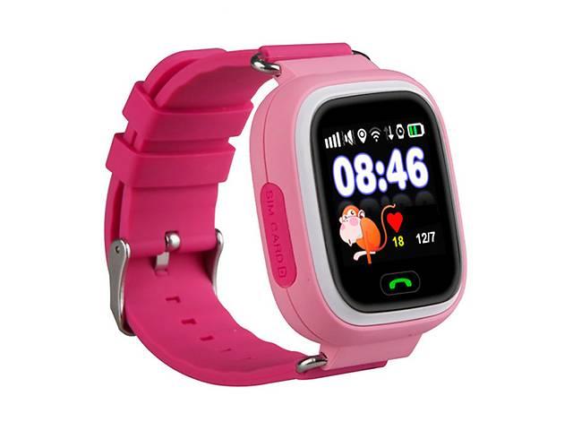продам Детские часы с GPS SMART BABY WATCH 100 (Q90) Розовые бу в Киеве