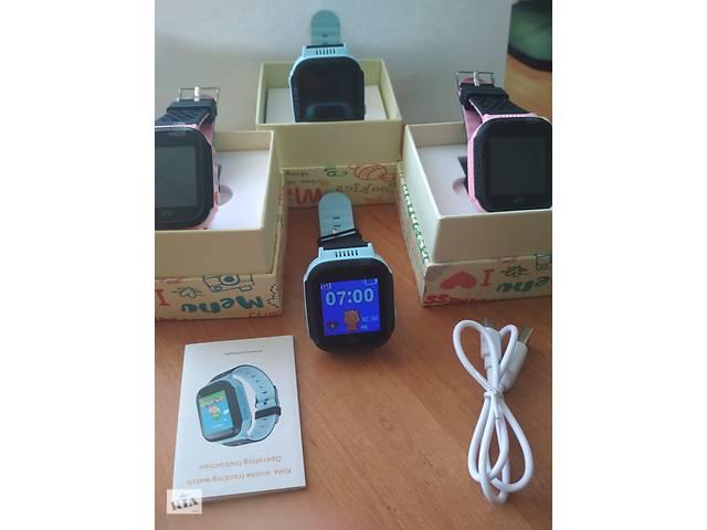 Дитячі розумні смарт годинник з камерою і ліхтариком GPS Q528Q02 руська мова- объявление о продаже  в Чемерівцях