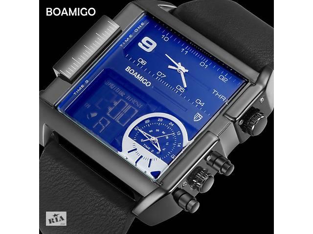 купить бу Крутые мужские наручные часы BOAMIGO F920 black ОРИГИНАЛ Водостойкие 30М в Кривом Роге