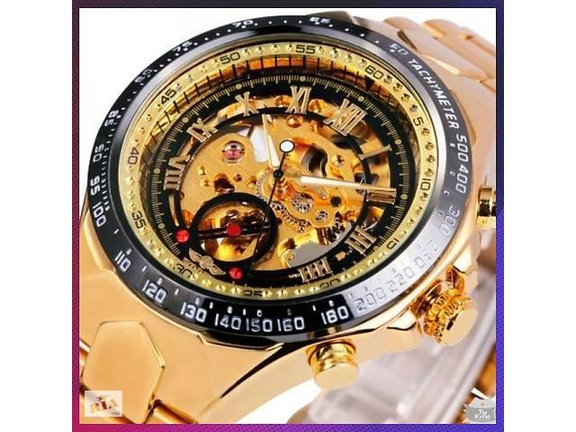 Механічні чоловічі годинник WINNER ACTION GOLD • Знижка -40 ... 8b45c3b2c659b