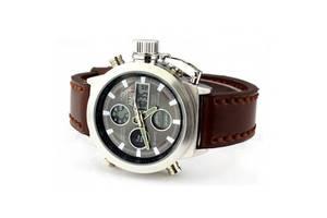 Мужские наручные часы AMST Watch - Коричневые