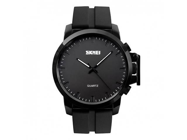 Мужские наручные часы SKMEI черные оригинал