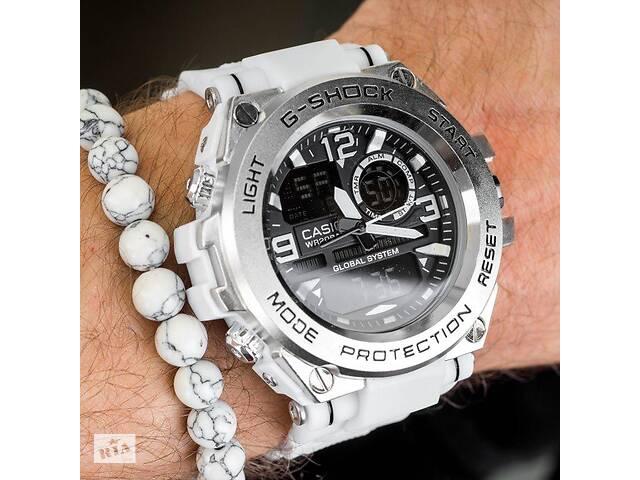 Мужские спортивные часы Casio G-Shock G-Steel WHITE копия- объявление о продаже  в Харькове