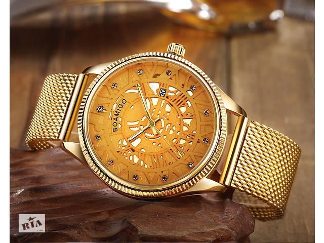 продам Наручные часы Boamigo Gold Style бу в Кривом Роге (Днепропетровской обл.)