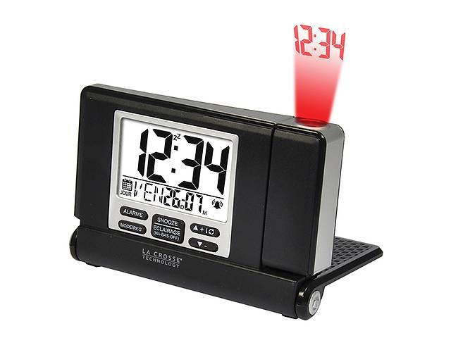 Проекционные часы La Crosse WT525-Black/Silver- объявление о продаже  в Харькове