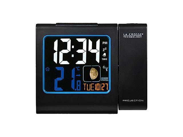 бу Проекционные часы La Crosse WT551-Black в Харкові