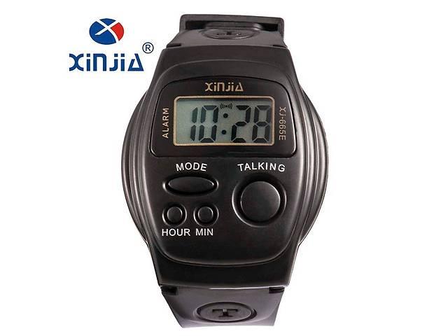 продам Спортивные говорящие мужские наручные часы для старшего возраста  (слепым). бу в Вінниці