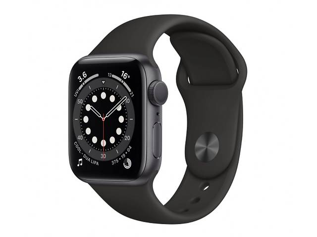 Apple Watch Series 6 GPS 40mm Space Gray Aluminum Case w. Black Sport B. (MG133)- объявление о продаже  в Харькове