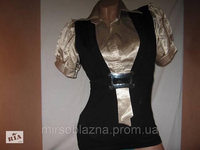 Блуза женская б/у р-р 44-46- объявление о продаже   в Украине