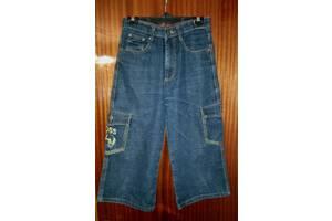 Бриджи джинсовые бренд «Boss» размер 32.