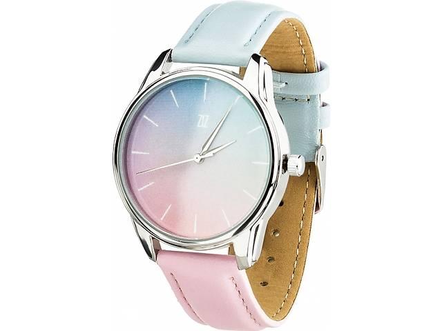 """продам Часы """"Розовый кварц и Безмятежность"""" (ремешок голубо-розовый, серебро) + дополнительный ремешок (4615085) бу в Мелитополе"""