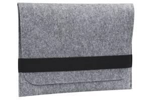 Чехол для ноутбука Gmakin для MacBook Air/Pro 13.3'' Black/Grey (GM15)