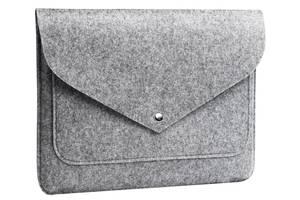 Чехол для ноутбука Gmakin для MacBook Air/Pro 13.3'' Grey (GM07)