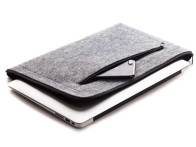 """бу Чехол для ноутбука Gmakin для Macbook Pro 13"""" Grey (GM67-13New) в Киеве"""