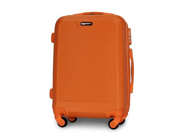Чемодан Fly 1093 Малый 55х40х24 см Ручная кладь на 4 колесах Оранжевый- объявление о продаже  в Одессе