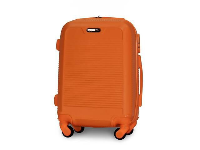 Чемодан Fly 1093 мини 52х37х20 см Ручная кладь на 4 колесах Оранжевый- объявление о продаже  в Одессе