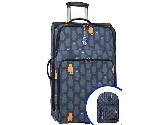 продам Чемодан + рюкзак (комплект) Bagland - 14 Bglnd000014 бу в Киеве