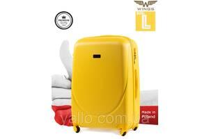 Чемодан Wings 310 L желтый