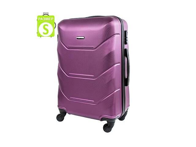 купить бу Чемодан Wings Чемодан маленький облегченный на 4-х колесах WINGS JAKW147S-dark-purple в Одессе