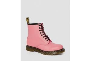 Черевики жіночі Dr. Martens 1460 рожеві SMOOTH leather original 25714653