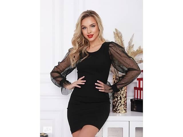 купить бу Черное платье в Львове