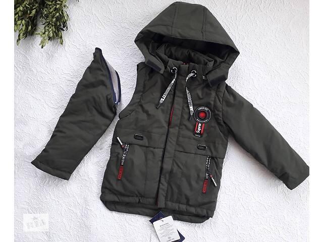 бу Демисезонная куртка - жилетка р. 116-122. в Сумах