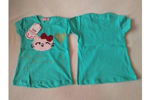 Детская футболка с пайетками перевертышами Китти WKC WHOOPS