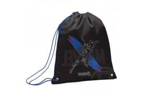Детская сумка рюкзак для обуви на веревках YES SB-10 40 х 35 см Marvel.Avengers Черная (554684)(SB-10)