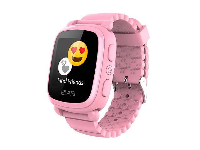 Детские смарт-часы Elari KidPhone 2 с GPS-трекером Pink (KP-2P)- объявление о продаже  в Киеве