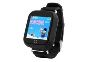 Детские умные GPS-часы Wonlex Smart Baby Watch Q100s Black