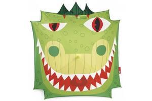 Детский зонт трость полуавтомат Janod Дракон зеленый