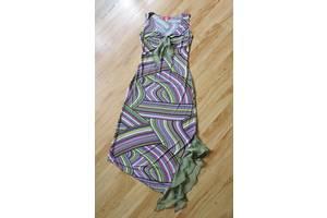 Длинное женское платье сарафан