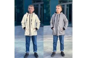 Двусторонняя рефлективная куртка для парня