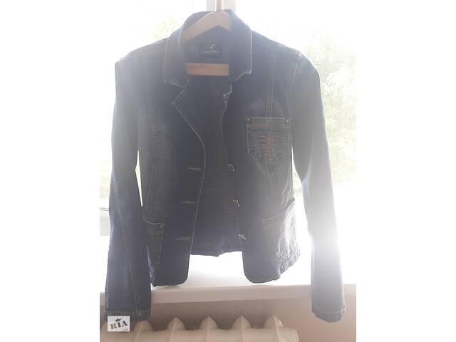 бу Джинсовый женской пиджак размер L в Виннице