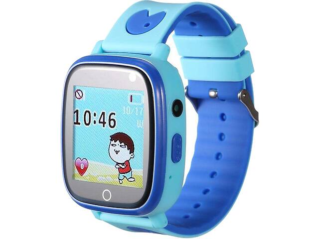 GoGPSme телефон-часы с GPS трекером К14%5b%5d GGPSmK14BL- объявление о продаже  в Киеве