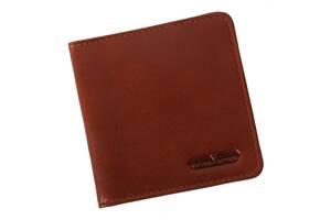 Картхолдер кожаный Vip Collection К1  Newport Коньячный