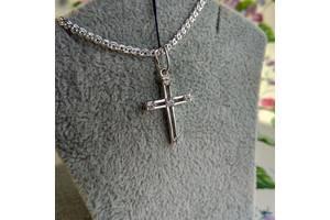 Хрестик срібний (925 проба)