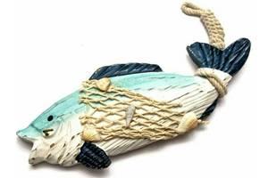 Ключница Рыба настенная