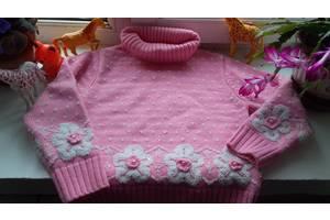 кофта,свитер девочке  5,6-7 -8 лет.р.110,116,122.
