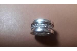 Кольцо серебряное BULGARI
