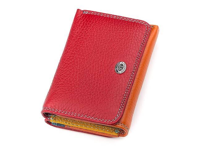 купить бу Кошелек женский ST Leather 18360 (SB403) яркий красный в Киеве