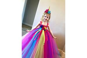 Костюм платье конфетки, принцессы, единорог