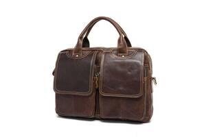 Кожаная мужская сумка на плечо  Joynee JynB10-8002