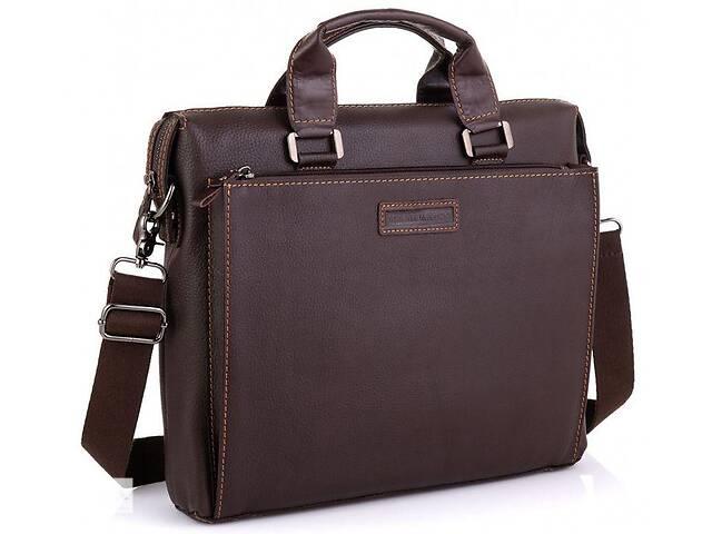 бу Кожаная сумка для ноутбука Allan Marco, коричневая в Киеве