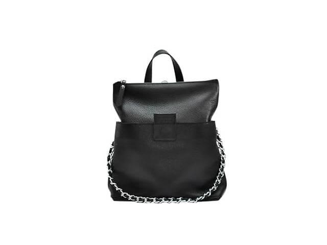 бу Кожаная женская сумка-рюкзак K 2 черный JzzК2292610B в Киеве