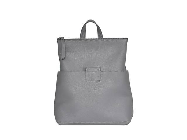 Кожаная женская сумка-рюкзак K 2 серый JzzК2292610G- объявление о продаже  в Киеве