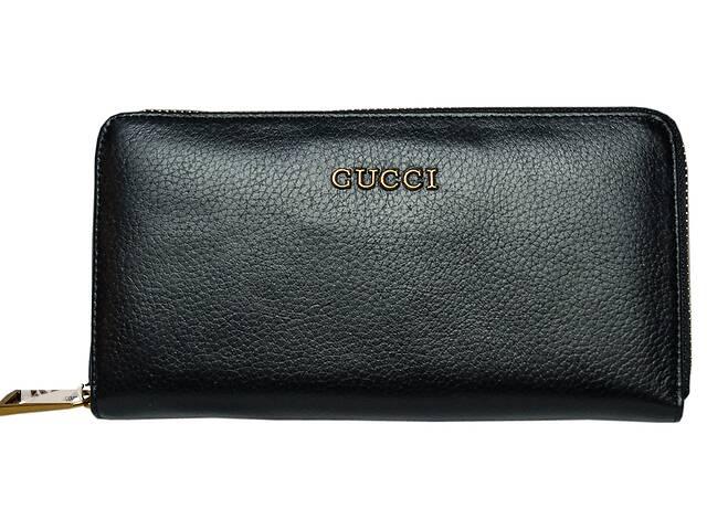 Кожаный кошелек  Leither Purse Gucci black Реплика- объявление о продаже  в Киеве