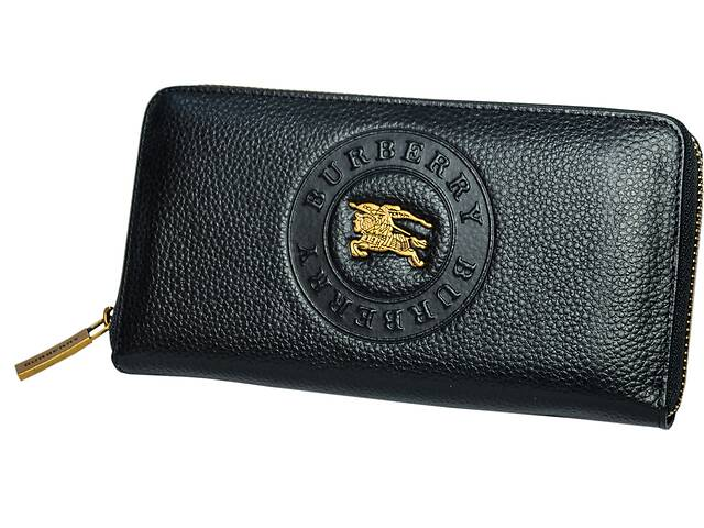 Кожаный кошелек унисекс Leither Purse Burberry Копия- объявление о продаже  в Киеве