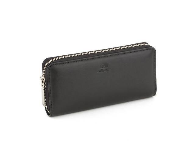 продам Кожаный женский клатч-кошелек Черный (Kpw_02_black_napa) бу в Одессе