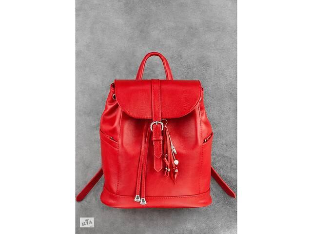 продам Кожаный женский рюкзак красный Олсен BlnkntBN-BAG-13-rubin бу в Киеве